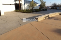 Sandscape Texture decorative concrete was installed here to create a distinctively beautiful hardscape surface that is consistent across the campus of CrossCity Christian Church.
