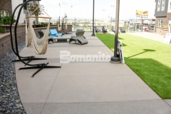 COLAB Co-Housing chose Bomanite Sandscape Texture to create the hardscape walking paths and courtyards throughout the stylish student living community, adding variation in color and a finish that resembles sand blasted concrete and beautifully complements the modern aesthetic.