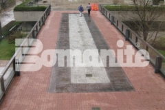 Various Bomanite Imprint System patterns were installed here to create a distinctive and durable hardscape surface that is visually appealing and eye-catching while providing durability and long-term wear and fade resistance.