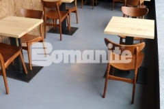 Our associate, Musselman & Hall Contractors, earned the 2018 Best Bomanite Toppings Systems Project Bronze Award for their skillful installation of Bomanite Micro-Top and because of their meticulous prep work to renovate the commercial interior flooring inside the Elmwood Restaurant, they added consistency and beautiful character that were transformative in this space.